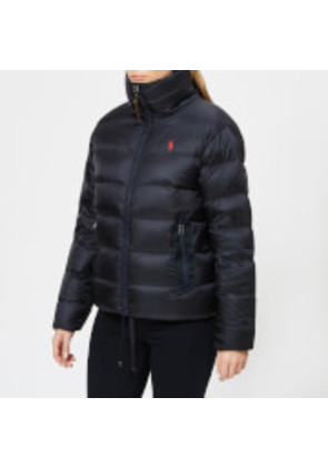 Polo Ralph Lauren Women's Flag Down Jacket - Navy - XS - Blue