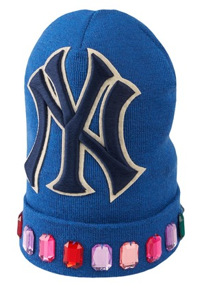 Gucci Wool hat with NY Yankees™ patch - Blue