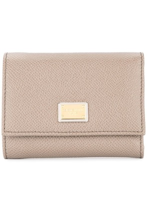 Dolce & Gabbana Dauphine wallet - Brown