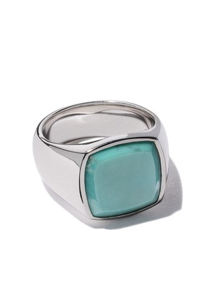 Tom Wood cushion blue lapis ring - Unavailable