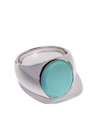 Tom Wood oval turquoise ring - Unavailable