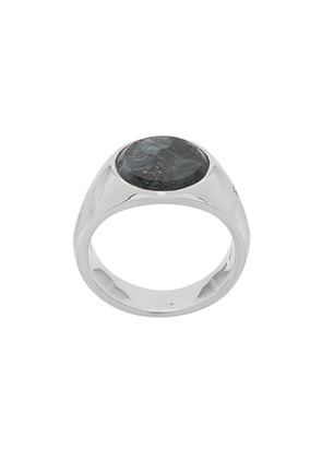Tom Wood small stone ring - Silver