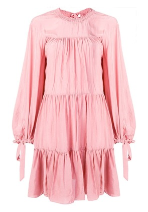 3.1 Phillip Lim tiered crepe dress - Pink