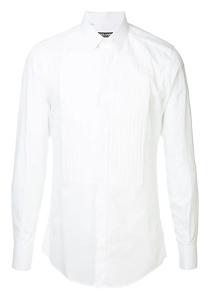 Dolce & Gabbana long-sleeve fitted shirt - White