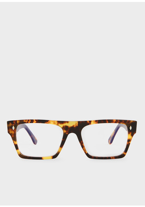 Cutler And Gross + Paul Smith - Honey Comb Turtle Spectacles - Limited Edition