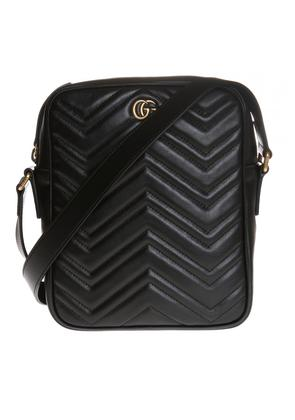 Gucci Quilted shoulder bag with a logo