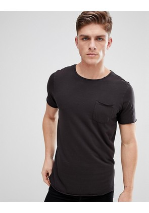Jack & Jones Originals T-Shirt With Raw Hem Details - Tap shoe