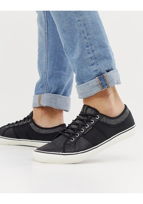 Jack & Jones trainers in black - Black