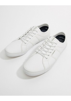 Jack & Jones Canvas Trainer - Bright white