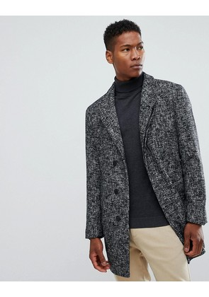 Jack & Jones Premium wool overcoat - Grey