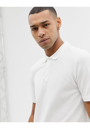 Jack and Jones Originals Basic Polo - White