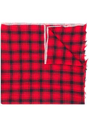 Bellerose checked scarf - Red