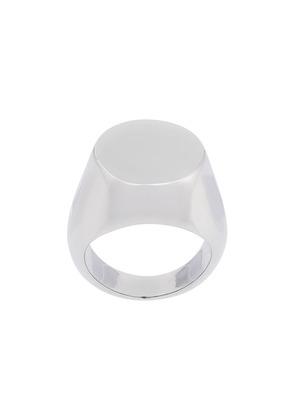 Jil Sander cocktail ring - Metallic
