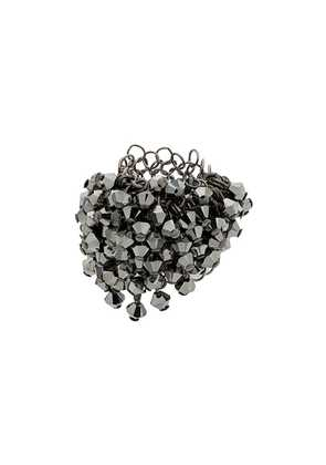 Marc Le Bihan geometric bead ring - Metallic