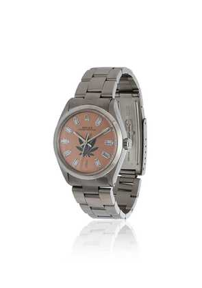 Jacquie Aiche vintage Rolex leaf diamond watch - Pink