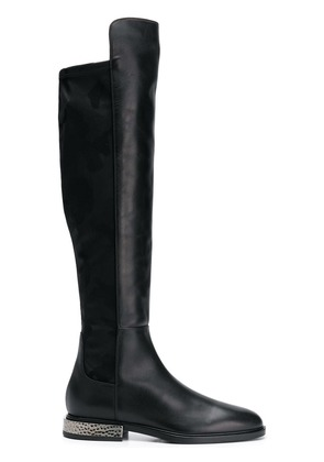 Alberto Gozzi knee-length boots - Black