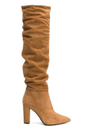 Alberto Gozzi heeled boots - Brown