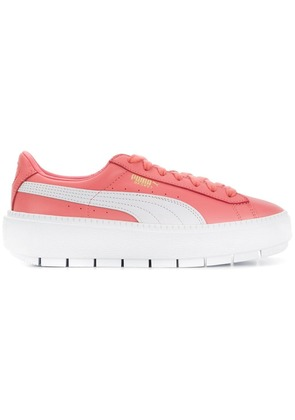 Puma lace up platform sneakers - Pink