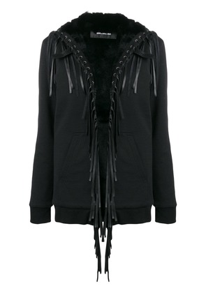 Barbara Bui fringe embellished loose jacket - Black