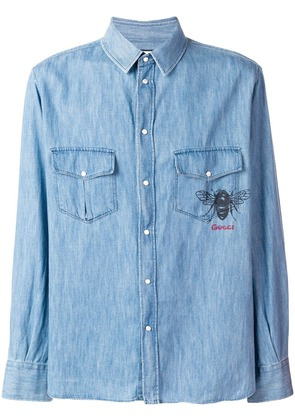 Gucci classic denim shirt - Blue