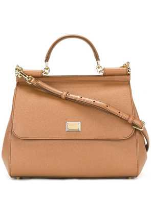 Dolce & Gabbana Sicily shoulder bag - Brown