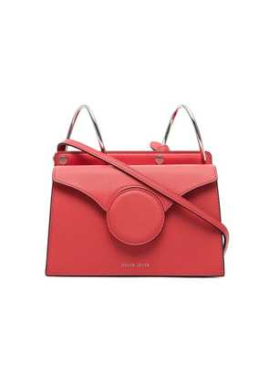 Danse Lente Phoebe Mini Leather Cross Body Bag - Red