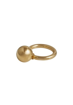 Burberry Charm Gold-plated Ring - Metallic