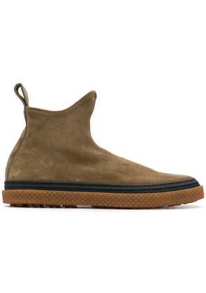 Buttero slip-on suede boots - Brown