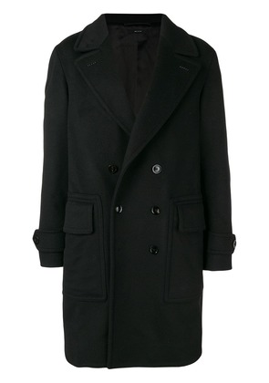 Tom Ford double breasted coat - Black
