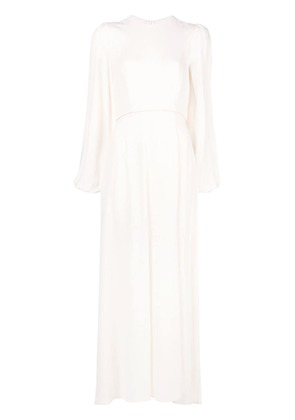 Zimmermann long sleeve dress - White