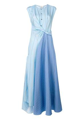 3.1 Phillip Lim Twisted Henley maxi dress - Blue