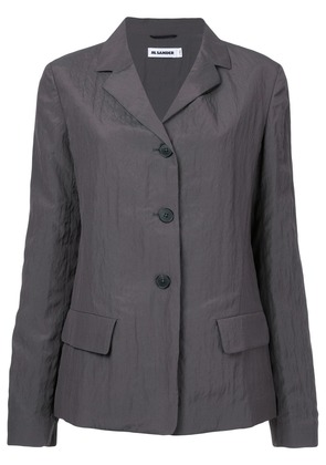 Jil Sander flap pockets blazer - Grey