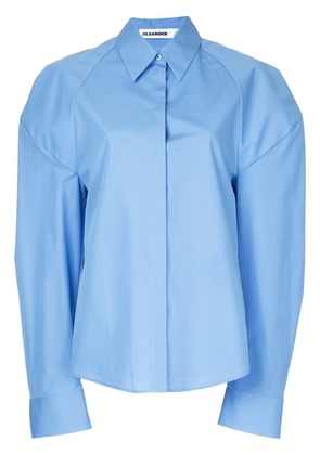Jil Sander dropped shoulder shirt - Blue