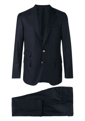 Caruso tailored suit jacket - Blue