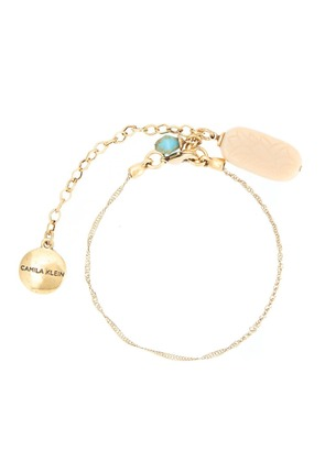 Camila Klein resin pendant anklet - Unavailable