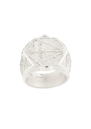 Meadowlark Panic ring - Metallic