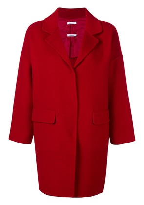 P.A.R.O.S.H. single breasted coat - Red