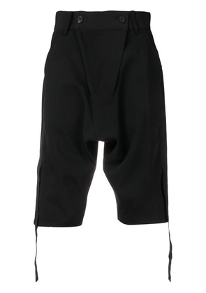 D.Gnak drop-crotch shorts - Black