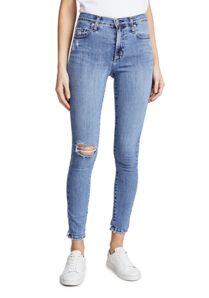 Nobody Denim The Cult High Rise Ankle Skinny Jeans