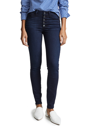 PAIGE Hoxton Ultra Skinny with Exposed Button Fly