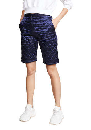 MSGM Quilted Nylon Shorts