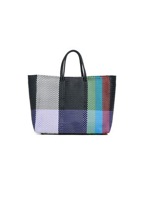Truss Large Tote Bag with Leather Pocket