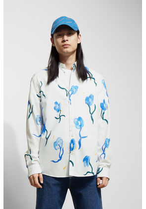 Lead Water Bloom Shirt - White
