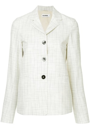 Jil Sander single breasted blazer - White