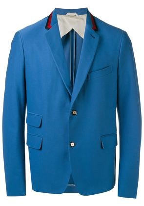 Gucci two button blazer - Blue