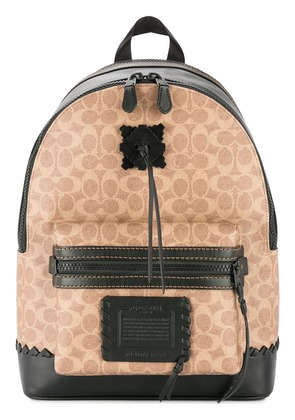 Coach Academy Backpack - Brown