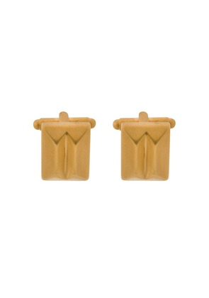 Northskull In 'n' Out cufflinks - Gold