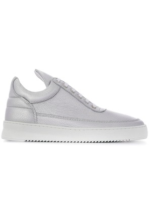 Filling Pieces lace-up sneakers - Silver