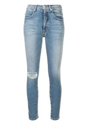 Adaptation ripped skinny jeans - Blue