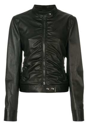 Tom Ford ruched fitted jacket - Black